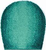 GRUND Badteppich 100% Polyacryl, ultra soft, rutschfest, ÖKO-TEX-zertifiziert, 5 Jahre Garantie, MOON, WC-Deckelbezug 47x50 cm, petrol