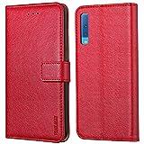 Peakally Xiaomi Redmi Note 6 Pro Hülle, Premium Leder Tasche Flip Wallet Case [Standfunktion] [Kartenfächern] PU-Leder Schutz