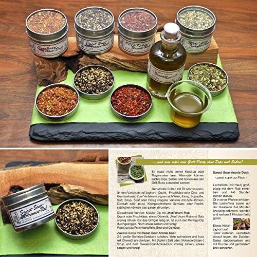 616Mg9JV9bL - direct&friendly Bio Grill Gewürz Superfood Set Geschenke für Männer