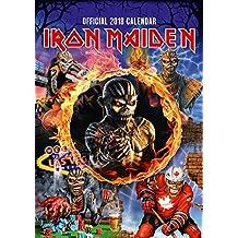 Iron Maiden Official 2018 Calendar - A3 Poster Format (Calendar 2018)