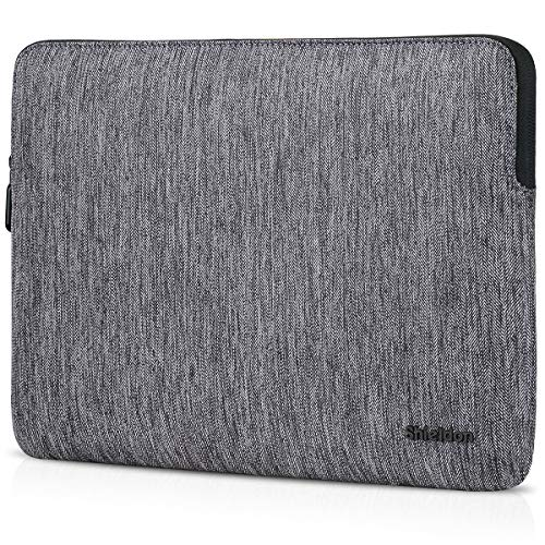 SHIELDON Laptop Tasche 13,3 Zoll, Sleeve Case Wärmeableitung, wasserdichte Notebook-Hülle Kratzschutz, Schutzhülle Kompatibel mit MacBook Air/Pro Retina, HP Elitebook, Surface Laptop2, (13-13,3) Grau