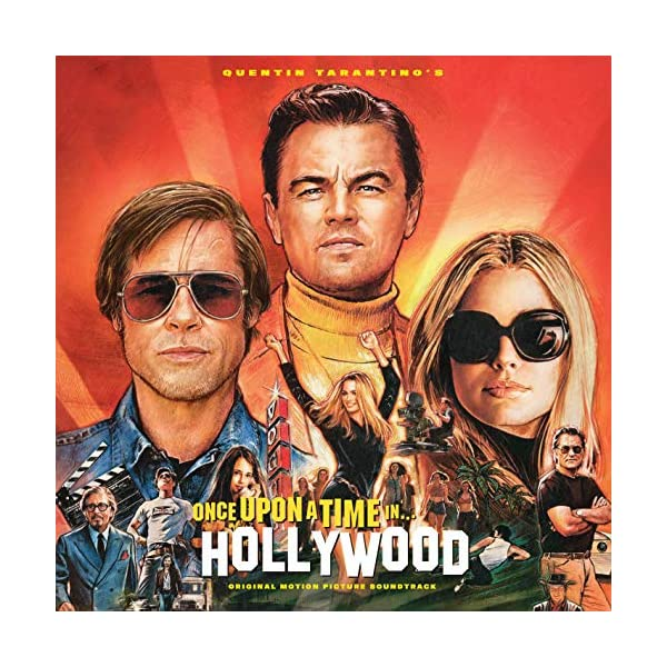 616Mnlq2mXL. SS600  - Quentin Tarantino'S Once Upon a Time in Hollywood [Vinyl LP]