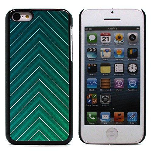 Graphic4You WET WOODEN PLANKS Muster Harte Hülle Case Tasche Schutzhülle für Apple iPhone 5C Design #11
