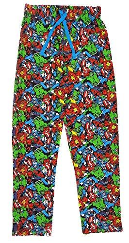 Herren Marvel-helden Freizeithose Pyjamahose S / M / L und Xl Mehrfarbig