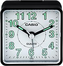 Casio Analog Table Clock (5.7 cm x 5.7 cm x 3.3 cm, TQ-140-1BDF)