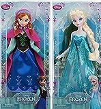Disney Frozen - Gefrorene Prinzessin Anna und Elsa Schwestern Klassische Puppe Set 30cm
