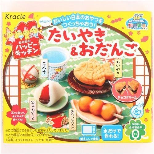 Preisvergleich Produktbild Happy Kitchen Mini Taiyaki Kuchen Odango Kracie Popin' Cookin' DIY Süßigkeiten