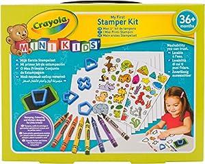 Crayola Mini Kids 81-1359-e-000-Mon 1er Kit de Sellos