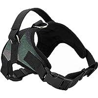 Pedigone Dog Belt Printed & Padded Dog Harness Adjustable Neck Strip & Chest Strip Dog Harness (Small)
