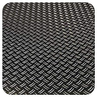 STAHLOG IHR ALU STAHL EDELSTAHL SHOP Aluminium 1,5/2,0mm Duett Riffel Blech Platte Zuschnitt nach Auswahl