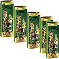 "Multi-taste 5x2 ""Premium sticks"" for large parakeets baked in bread oven"