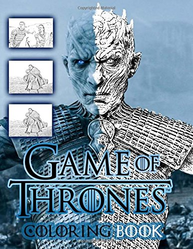 game of thrones malbuch Game of Thrones Coloring Book: (from season 7)