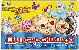 Hasbro B2176456 - Gioco L'Allegro Chirurgo, Multicolore