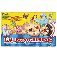 Idea Regalo - Hasbro Gaming - L'Allegro Chirurgo (Gioco in Scatola), B2176456