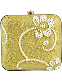 91d53d134c0 Gold Women s Clutches  Buy Gold Women s Clutches online at best ...