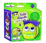 Creative Educational Aids P. Ltd. Stitching Kit - Cute Friends 3 Stitching Kit, Multi Color