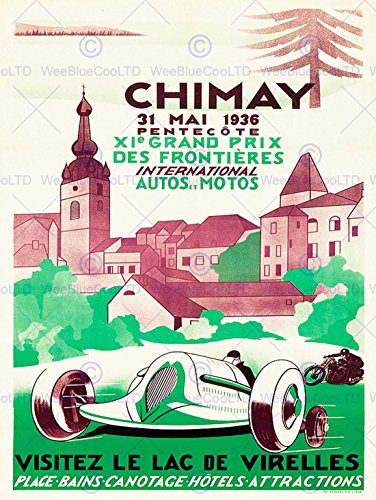 advert-exhibition-motor-sport-chimay-brewery-belgium-hotel-spa-poster-affiche-30x40-cm-12x16-in-bb78