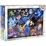Disney Stained Art 500 Piece It's Magic! DSG-500-429 tightly (japan import)