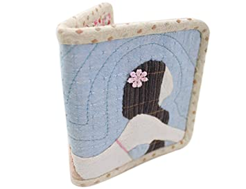 Cute Mermaid Wallet Purse DIY Material Kit Fabric Craft Set Sewing