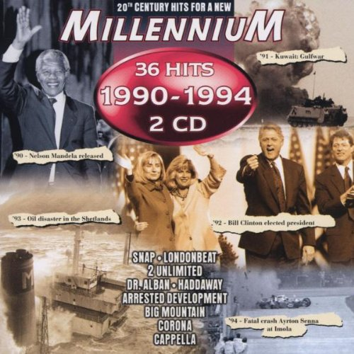 36 Hits of 1990-1994 (1990 Snap)
