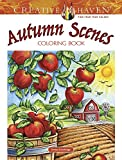 Creative Haven Autumn Scenes Coloring Book (Creative Haven Coloring Book)