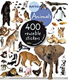 Animals: 400 reusable stickers inspired by nature (Eye Like Stickers)