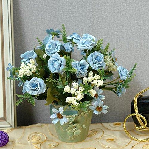 Fleurs artificielles Imitation fleur fleurs fleurs rose fleur soleil salon Table de thé TV cabinet Xuan Guan tableau salle de réunions avec des fleurs,D