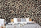 Wallsticker Warehouse Leopard Fototapete - Tapete - Fotomural - Mural Wandbild - (190WM) - XXXL - 416cm x 254cm - VLIES (EasyInstall) - 4 Pieces