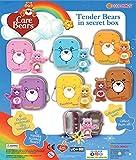 MVS Wholesale Paquet de 10 x Care Bears en étain avec porte-clés, Ideal Party Bag Filler/Filling ou Prix Pinata