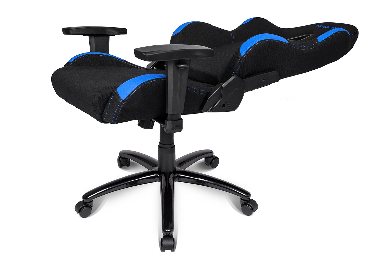 AKRACING EX – Silla (Negro, Azul, 5 Rueda(s))
