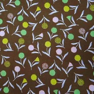 """40 """"Largeur Brown rideaux Tissu popeline de coton à coudre à la main Artisanat Tissu 1 Verge"""