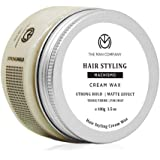 The Man Company Machismo Stronghold Hair Wax for Men| Stylish Matte Finish with Volume | Non Sticky - 100gm