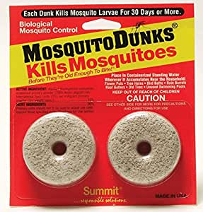 Summit...responsible solutions Mosquito Dunks 102-12 Mosquito Killer, 2 Pack