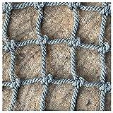 XXN Outdoor Kletternetz,Hochleistungskletterkind, Baumhausschutznetz Fitness Schaukel Leiternetz für Kinder Erwachsene Ladung Fest Ladung LKW Deckwagen Netze Gartensperre Rennbahnzaungeflecht