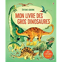 Mon livre des gros dinosaures