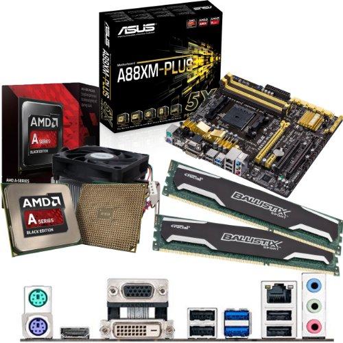Cheapest AMD Kaveri A10-7850K 3.7Ghz, ASUS A88XM-PLUS Motherboard & 8GB 1600Mhz DDR3 Crucial Ballistix Sport RAM Bundle Online