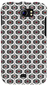 PrintVisa 3D-MMXC2A110-D7927 Pattern Art Design Back Cover for Micromax Canvas 2 A110