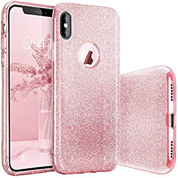 coque iphone x or rose