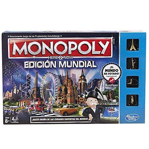 Hasbro Gaming - Juego Mesa Monopoly Edición Mundial