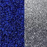 20kg (Grundpreis 3,05€) Buntsteinputz Mosaikputz 1-2mm Anthrazit + Spiegelbruch fluoreszierend Glasputz Wandputz