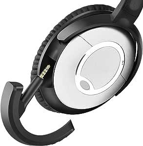 Yocowoco Wireless Bluetooth 5 0 Adapter For Bose Quietcomfort Qc15 Headphones Aptx Mic Volume Control Black