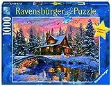 Ravensburger Bianco Natale Puzzle 1000 Pezzi - Fantasy, Multicolore, 19796