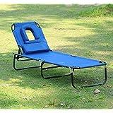 transat de jardin chaise longue pliante bain de soleil pour lecture noir neuf 42 jardin. Black Bedroom Furniture Sets. Home Design Ideas