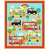 Rainbow Bus Kinderzimmer Panel–QT57–Panel ist