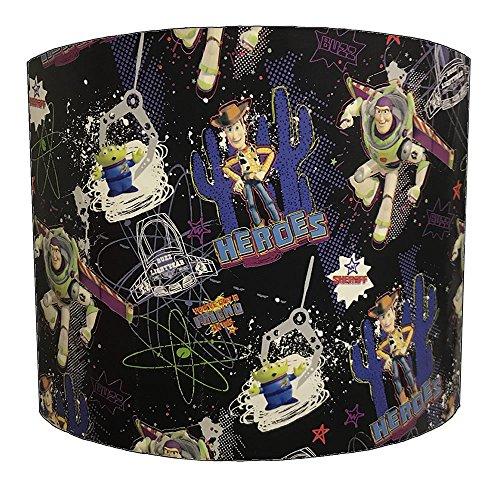 20,3 cm jouet étage Wood Buzz l'Éclair pour enfant Design Abat-jour pour une lumière Ceiiling, 25,4 cm