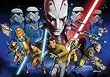 Tapetokids Fototapete - Star Wars Rebels Kanan Inquisitor - Vlies 254 x 184 cm (Breite x Höhe) - Wandbild Star Wars