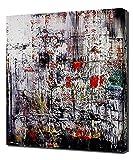 Lilarama Gerhard Richter - ice-2- Art Leinwandbild - Kunstdrucke - Gemälde Wandbilder
