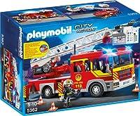 PLAYMOBIL 5362 - Feuerwehr-Leiterfahrzeug mit Licht und S...