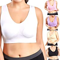 ALBATROZ Plus Size Bras for Women Seamless Bra Without Pads Seamless Bras Full Cup Bras Big Size L XL 2XL Bralette…