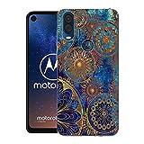 CaseExpert Motorola One Vision Case, Pattern Soft Slim Gel